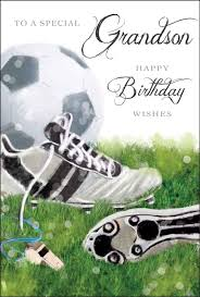 grandson birthday card just for you grandson happy birthday