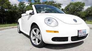 volkswagen beetle convertible triple white vw beetle convertible for sale u2013 15 995