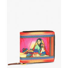 buy all things sundar multi color digital print wallet