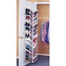 shoe organizer shoe away 30 pocket organizer in over the door shoe racks