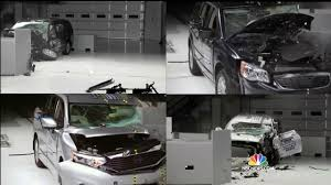 lexus family van minivans not as safe in crashes as you think tests show nbc news