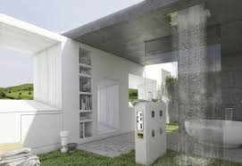 Apartments Stunning Outdoor Bathroom Ideas With White Wood - Designer bathroom exhaust fans