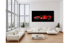 ferrari wall art ferrari 488 italia spider art photo signed u0026 limited by amaury dubois