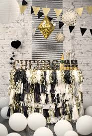 New Years Eve Black And White Decorations by Fun Party Decor From Typo Buffet Ranges And Third