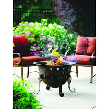 Heavy Duty Patio Furniture Covers - heavy duty cast iron outdoor patio fire pit cauldron with cover