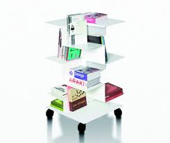 Free Standing Bookcases Modern And Asymmetric Freestanding Bookcases Librespiral By