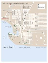 Mexico Maps Area Maps Of Rocky Point Maps Of Puerto Penasco Mexico Maps Of