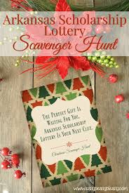 Christmas Party Ticket Christmas Scavenger Hunt With Free Printable Clues Easy Peasy Pleasy