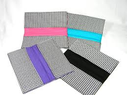 Houndstooth Home Decor by Mega Coupon Organizer Holder Houndstooth Glowgirl Fibers