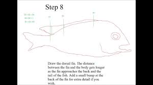 how to draw a simple cartoon fish easy steps video dailymotion