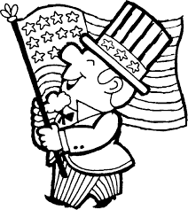 coloring pages us flag