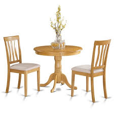 3 Piece Kitchen Table by Oak Small Kitchen Table Plus 2 Chairs 3 Piece Dining Set Free