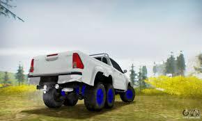 toyota trucks sa toyota hilux arctic trucks 6x6 for gta san andreas