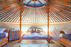 tende yurta domaine ec續telia capanna sugli alberi tende yurta caravans