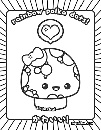 kawaii coloring pages bestofcoloring com