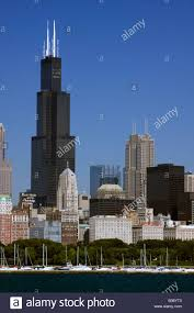chicago illinois sears tower willis tower dwarfs chicago board