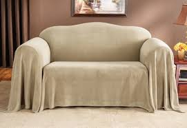 Slipcovered Loveseat Sure Fit Plush Box Cushion Loveseat Slipcover U0026 Reviews Wayfair