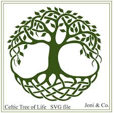 celtic svg celtic tree of svg cletic