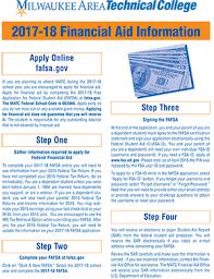 financial aid homepage