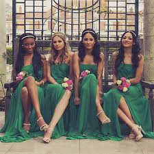 emerald green bridesmaid dress pretty chiffon junior emerald green bridesmaid dress
