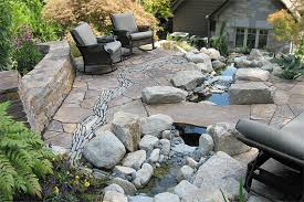 Backyard Flagstone Patio Ideas Backyard Stone Patio Design Ideas U2014 Demotivators Kitchen