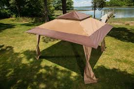 Pop Up Gazebos With Netting by Large Pop Up Gazebo Garden Canopy Yard Poolside Party Furniture