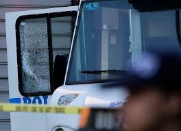 nyc officer shot to death while sitting in police vehicle u2013 las
