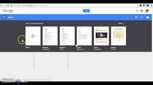 Google Docs Resume Creating A Resume On Google Docs Youtube