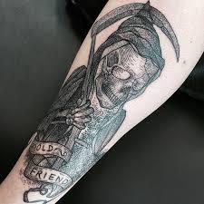 scary grim reaper tattoos parryz com