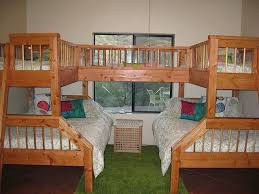 Double Bunk Beds Great For Sleepovers Or Lots Of Kids - Double bunk beds