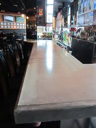 concrete top bar table 17 best concrete bar tops table tops and more images on pinterest