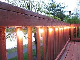 Patio Cafe Lights by Bonnieprojects Lighting The Deck