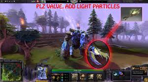valve please add particle effects in immortal tiny