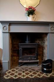 can you paint a fireplace surround round designs