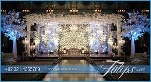 Wedding Reception Stage Decoration Images Tulips Event Best Pakistani Wedding Stage Decoration Flowering