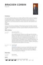 Accounting Resume Download Accounting Internship Resume Sample