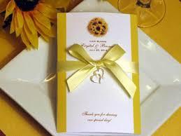 sunflower wedding favors sunflower wedding wedding budget planner