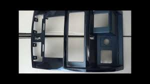 custom dodge dakota double din bezels youtube