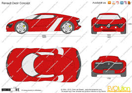 renault dezir price the blueprints com vector drawing renault dezir concept