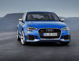 audi rs3 blue audi rs3 2017 sportback is a 395 bhp hatchback with 174mph top