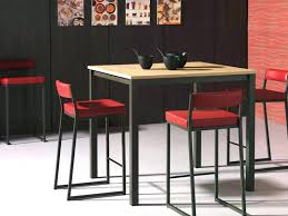 table haute cuisine table cuisine amovible table de cuisine a fixer au mur table