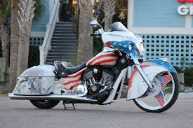 american indian car indian motorcycle dealers compete with chieftain build off the drive