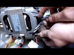 hoover washing machine motor fault repaired tachometer tested