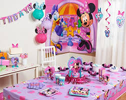 Amazon Minnie Mouse Bow Tique Birthday Party Banner Party
