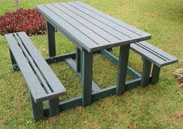 recycled plastic picnic tables picnic tables made from 100 recycled plastic ecology plastics