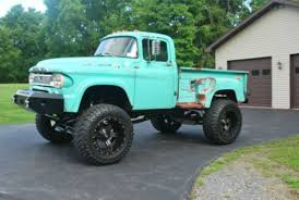 dodge cummins for sale in ny buy used 1960 dodge w100 power wagon cummins powered lifted patina
