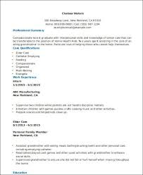 Home Health Care Job Description For Resume by Hha Resume Resume Cv Cover Letter