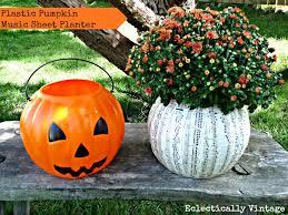 plastic pumpkins the best makeover for a 1 plastic pumpkin hometalk