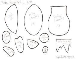 free plushie patterns online by viergacht on deviantart