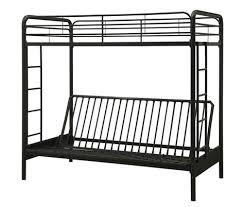 Metal Futon Bunk Beds Black Metal Futon Bunk Bed Intersafe
